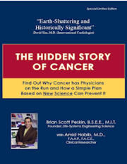 Book Hidden Story of Cancer by Brian Peskin - about the value of Parent Essential Oils (PEOs) and hazards of vegetable oils