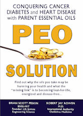 Book Peo Solution by Brian Peskin - about Parent Essential Oils